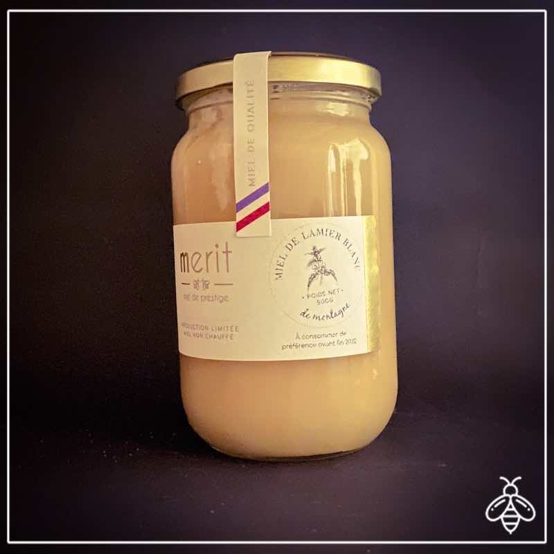 Miel de lamier blanc - miel rare